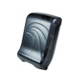 Oceans Ultrafold Towel Dispenser, Transparent Black, 11-3/4w x 6-1/4d x 18h