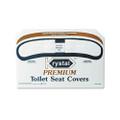 Premium Half-Fold Toilet Seat Covers, 250 Covers/box, 10 Boxes/carton