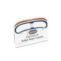 Premium Half-Fold Toilet Seat Covers, 250 Covers/box, 20 Boxes/carton