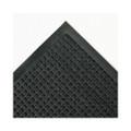 Super-Soaker Wiper Mat w/Gripper Bottm, Polypropylene, 36 x 60, Charcoal