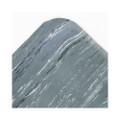 Cushion-Step Mat, Rubber, 36 x 60, Marbleized Gray