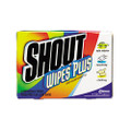 Shout Instant Stain Treater Wet Wipes, Paper, 5 x 6, 80/carton