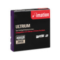 imation 1/2 inch Tape Ultrium LTO Data Cartridges, LTO 2, 400GB, 1998 feet
