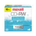 DISC,CD-RW,74MIN,4X,10/PK