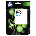 C4907AN (HP 940XL) High-Yield Ink, 1400 Page-Yield, Cyan