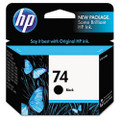 CB335WN (HP 74) Ink, 200 Page-Yield, Black