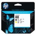 C9381A (HP88) Printhead Cartridge, Black/Yellow