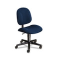 Every-Day Series Swivel-Back Pivot Task Chair, Olefin Fabric, Blue