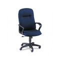 Gamut Series Executive High-Back Swivel/Tilt Chair, Navy Blue