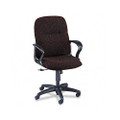 Gamut Series Managerial Mid-Back Swivel/Tilt Chair, Claret Burgundy