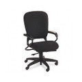 4700 Series Mobius Task Seating High-Back Swivel Chair, Black Olefin Fabric