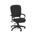 4700 Series Mobius Task Seating High-Back Swivel Chair, Black Olefin Fabric