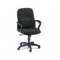 Gamut Series Managerial Mid-Back Swivel/Tilt Chair, Iron Gray