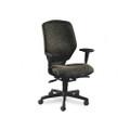 Resolution 6200 Series High-Back Swivel/Tilt Chair, Black/Iron Gray