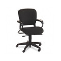 4700 Series Mobius Task Seating Mid-Back Swivel Chair, Black Olefin Fabric