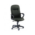 Gamut Series Executive High-Back Swivel/Tilt Chair, Iron Gray