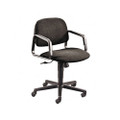 Solutions Seating Mid-Back Swivel/Tilt Chair, Olefin, Gray