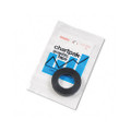 "Graphic Chart Tape, 1/4"" x 9 Yards, Glossy Black"