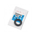 "Graphic Chart Tape, 1/8"" x 9 Yards, Glossy Black"