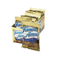 Famous Amos Cookies, Chocolate Chip, 2oz Snack Pack, 8 Packs per Box