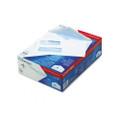Dubl-Vue Poly-Klear Double Window Envelope/Tint, 8-5/8,White,500/bx