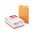 Kraft Clasp Envelopes, 28lb, 9-1/2x12-1/2, 100/box