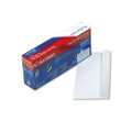 Grip-Seal Inside-Tint Business Envelopes, 10, White Wove, 45/box