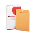 Kraft Clasp Envelopes, 28lb, 9 x 12, 100/box