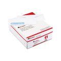 10 Security Tint Envelopes w/Clear Poly Window, White, 500/box
