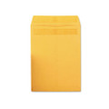 Redi-Seal Catalog Envelopes, 9 x 12, Kraft, 100/box