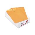 Catalog Envelopes, Gummed, 32lb, 10 x 13, Kraft, 100/box