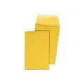 Kraft Coin/Small Parts Envelopes, 1, 20lb, Brown Kraft, 500/box