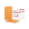 Catalog Envelopes, Gummed, 20lb, 9 x 12, Kraft, 250/box