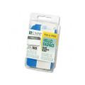 Self-Adhesive Hello Name Badges, White/Blue, 3-1/2 x 2-1/4, 100/box