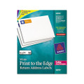 Laser Labels for Color Printing, 3/4 x 2-1/4, White, 750/Pack