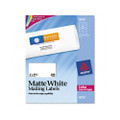Laser Labels for Color Printing, 2 x 3-3/4, White, 200/Pack