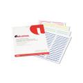 Laser Printer File Folder Labels, 3-1/2 x 2/3, Assorted, 750 per Pack