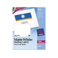 Laser Labels for Color Printing, 3-3/4 x 4-3/4, White, 100/Pack