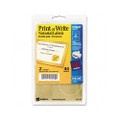 Self-Adhesive Notarial and Certificate Seals, Gold, 44/Pack