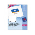 Laser Labels for Color Printing, 3 x 3-3/4, White, 150/Pack
