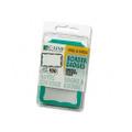 Self-Adhesive Border-Style Name Badges, Green Border, 3-1/2 x 2-1/4, 100/box