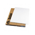Polystyrene Foam Board, 40 x 30, White Surface/White Core, 10 per Carton