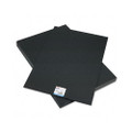 CFC-Free Polystyrene Foam Board, 30 x 20, Black Surface and Core, 10 per Carton