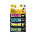Post-it Arrow Flags, Four Colors, 24 per Color, Two 96-Flag Dispensers per Pack