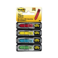 "Post-it Arrow Flags, ""Sign Here"", 4 Colors, 40 per Color, 4 40-Flag Dispensers"