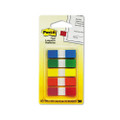 Post-it Small Flags in Dispensers, Five Colors, 20 per Color, 5 Dispensers/Pack