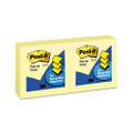 Pop-Up Note Refills, 3 x 3, Canary Yellow, 100 Sheets