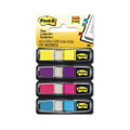 Post-it Small Flags in Dispensers, Five Colors, 35 per Color, 5 Dispensers/Pack