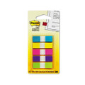 Post-it Small Flags, Five Bright Colors, Five Dispensers of 20 Flags per Color