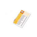 HeatSeal Laminating Pouches, 5mm, 5-1/2 x 3-1/2, 25/pack